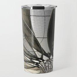 Metal petal Travel Mug