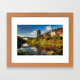 The Iron Bridge Framed Art Print