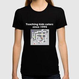 Teaching Kids Colors Since 1995 - Kanto Map T-shirt