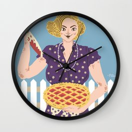 Serial Mom Wall Clock