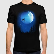 Let's have fun Black MEDIUM Mens Fitted Tee