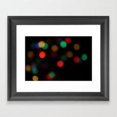 Colorful Light Framed Art Print