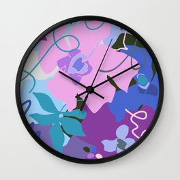 Spring Flower Song Wall Clock