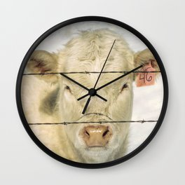 Moo Are So Beautiful Wall Clock