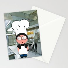 Job serie: the chef Stationery Cards