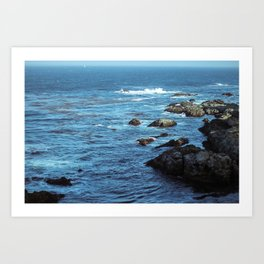 Pacific Blue Art Print