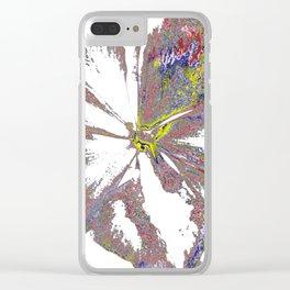 Sunburnt Clear iPhone Case