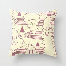 Cream Puff Throw Pillow
