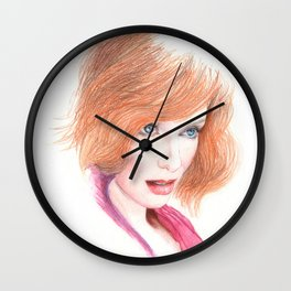 mad joan... Wall Clock
