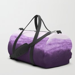 Amethyst Watercolor Crush Duffle Bag
