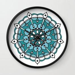 Mandala 4 Wall Clock