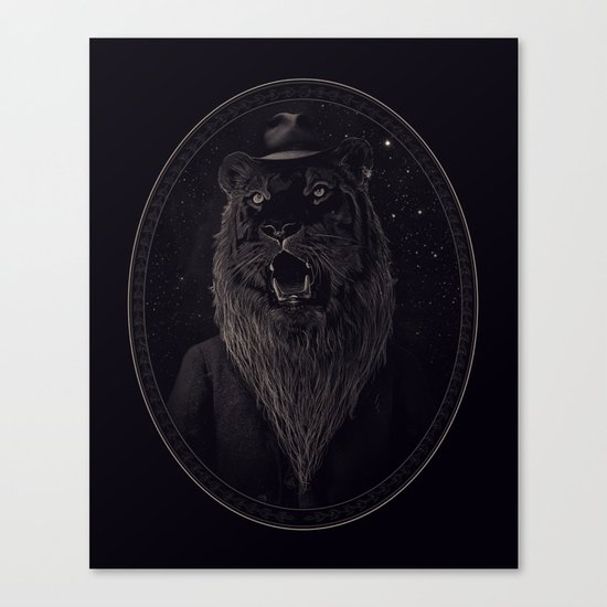 Call of the Wild Night Canvas Print
