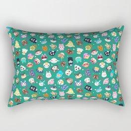 Happy Town Rectangular Pillow