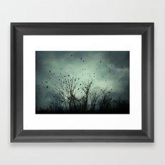 One November Night Framed Art Print