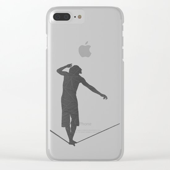 Slackline Clear iPhone Case