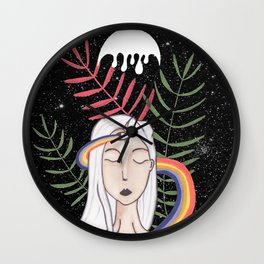La lune Wall Clock