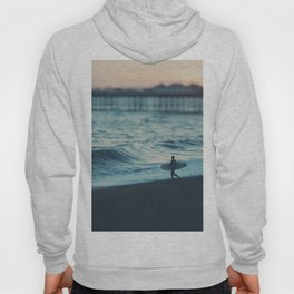 the lone surfer ... Hoody