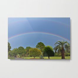 Rainbows After The Rain Metal Print