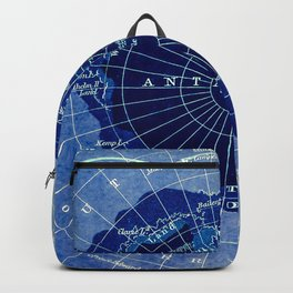 South Pole Neon Map Backpack