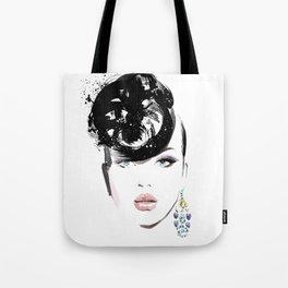 Fashion Painting #6 Tote Bag