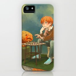Ron Weasley - Resting time iPhone Case
