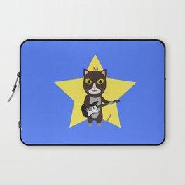 Rock-Music Cat Laptop Sleeve