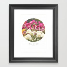 Colour My World Framed Art Print