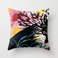 philosophy Throw Pillows featuring Philosophy by Jessica Nicole Pacheco