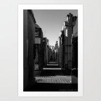 Recoleta cemetery Art Print