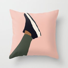 Sneaker Gear Throw Pillow