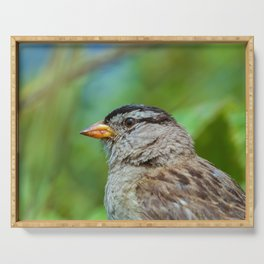 Sparrow the Portrait Serving Tray