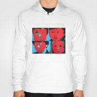 talking heads Hoodies featuring Talking Heads - Remain in Light by NICEALB