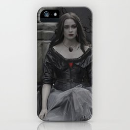 The Darkness Awaits iPhone Case