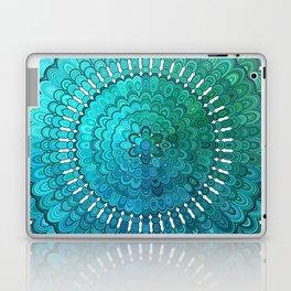 Turquoise Mandala Laptop & iPad Skin