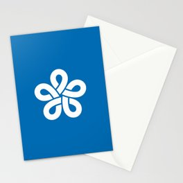 flag of fukuoka prefecture Stationery Cards
