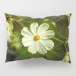 White flower kosmeya Pillow Sham