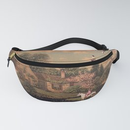 Pondering on a Cloud Fanny Pack