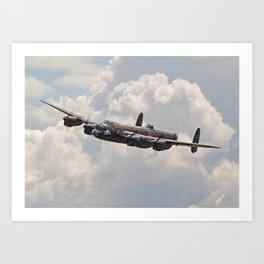 Lancaster - Memorial Flight Art Print