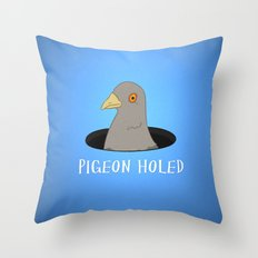 Pigeon Holed Throw Pillow