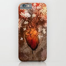 This Bleeding Blossoming Heart iPhone 6s Slim Case