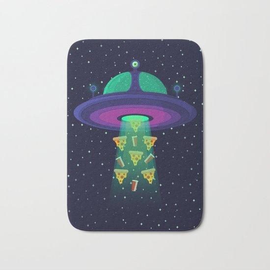 Alien Munchies Bath Mat