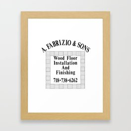 shirt Framed Art Print