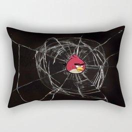 Angry Birds Breaking Glass Rectangular Pillow