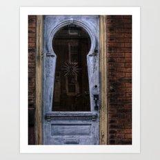 keyhole door. Art Print