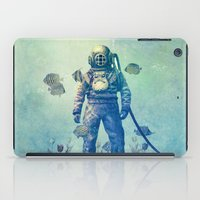 sea iPad Cases featuring Deep Sea Garden  by Terry Fan