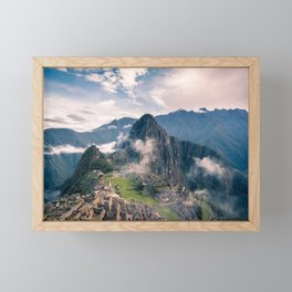 Mountain Peru Framed Mini Art Print
