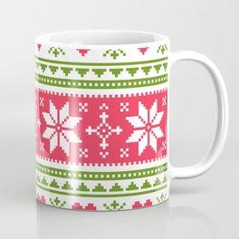 Merry Christmas pattern 3 Coffee Mug