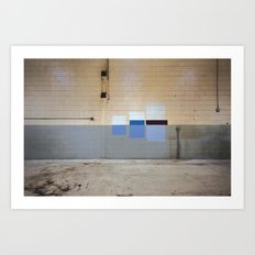 Wall Swatches Art Print