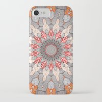 mandala iPhone & iPod Cases featuring manDala by Monika Strigel