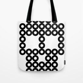 Retro Skull #1 Tote Bag